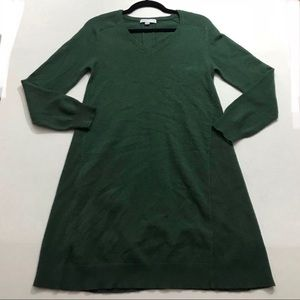 See By Chloe Green Sweater Dress